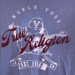 Men's true religion tee shirt